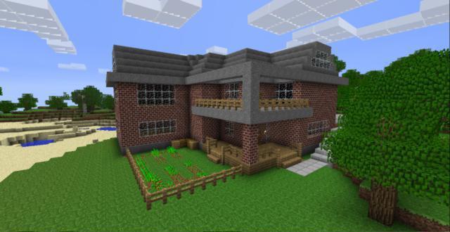 Схемы домов миникрафт