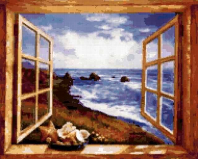 Вид из окна, предпросмотр