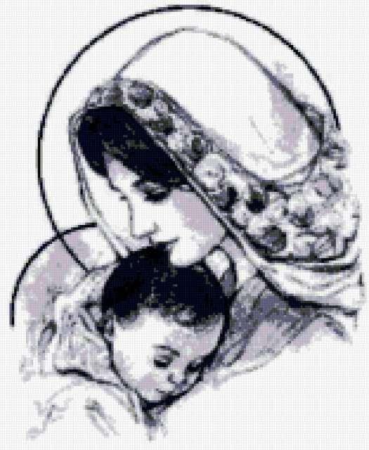 Матерь Божья с ребенком,