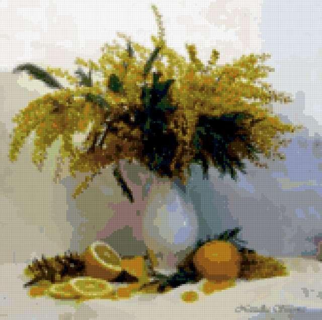 Мимоза и лимоны, предпросмотр