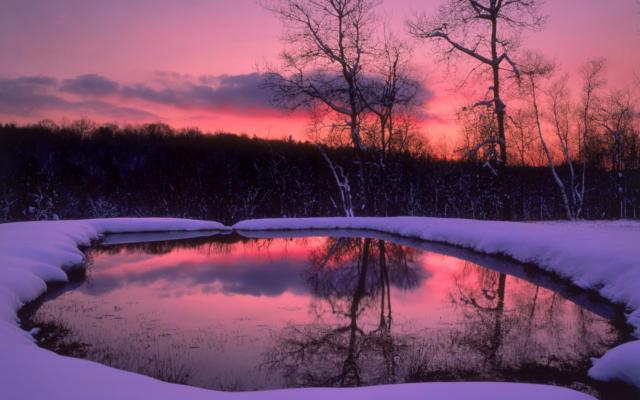 Зимний восход, зимний восход,