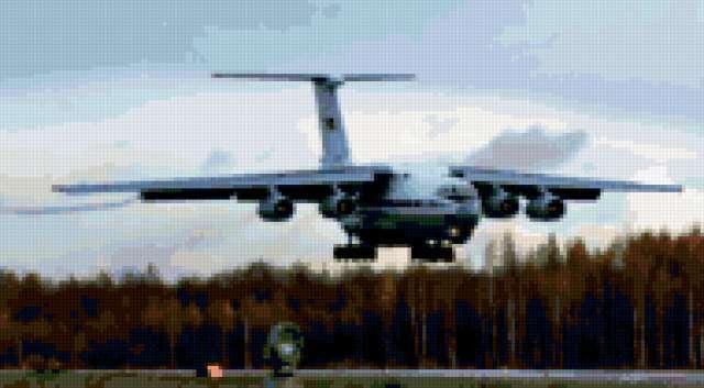 Самолетик ил-76, предпросмотр