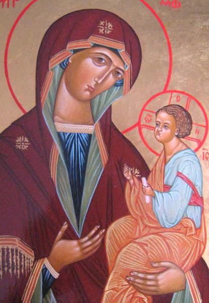 Икона Божией Матери (Грузинска