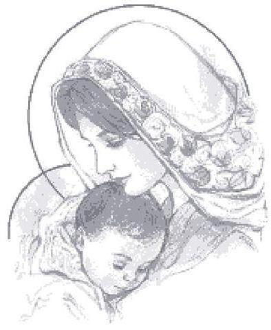 Мария с Иисусом, оригинал
