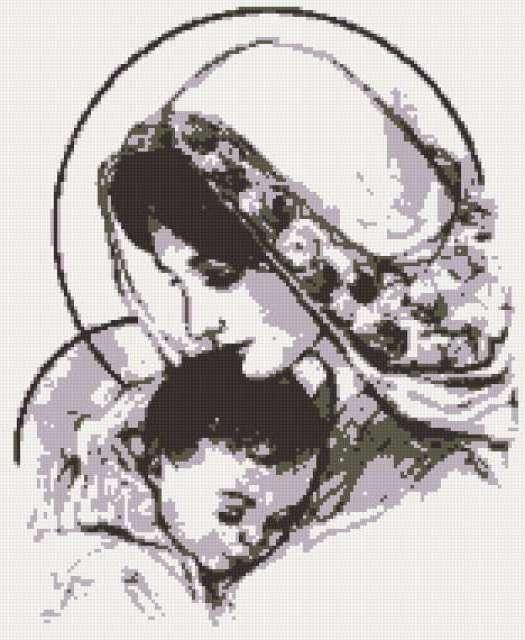 Мария с Иисусом, предпросмотр