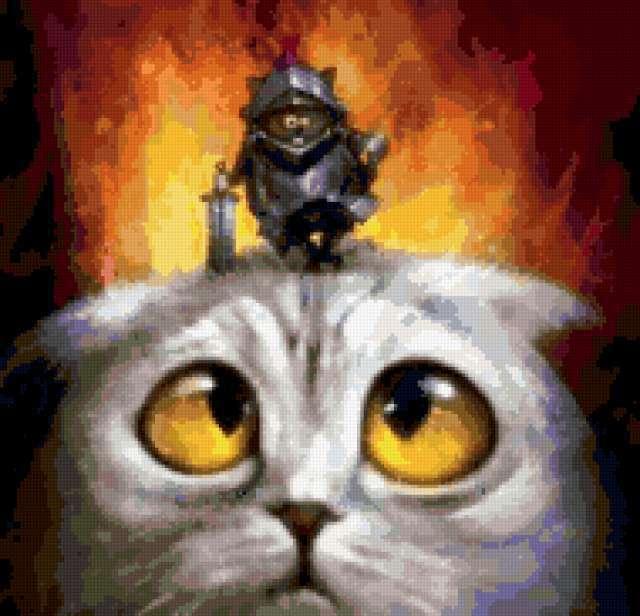 Гроза котов и кошек,