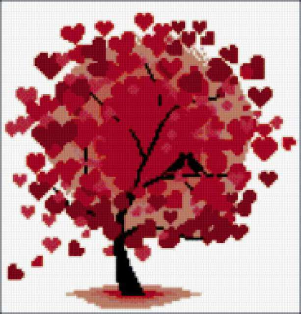 Дерево любви., предпросмотр