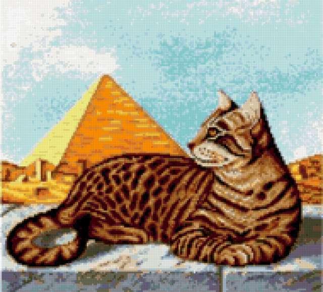 Кошка в Египте, кошка,