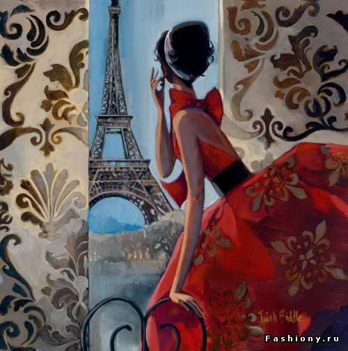 Свидание в Париже, оригинал