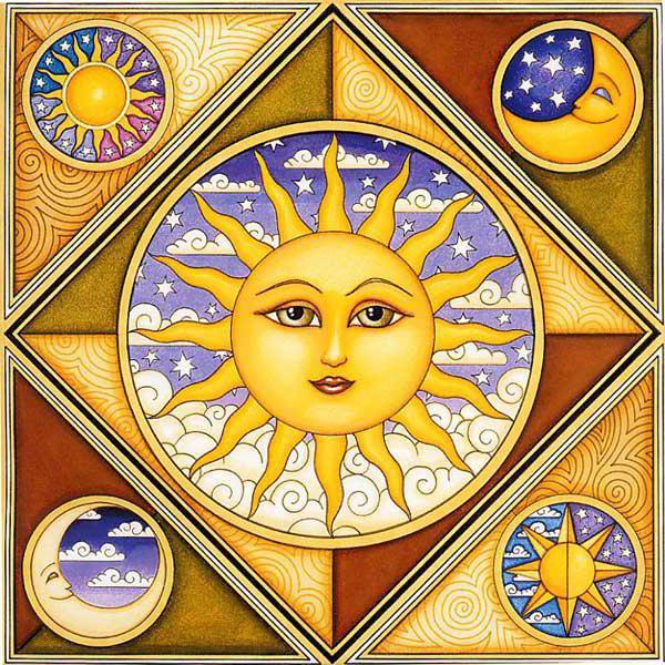Солнце, солнце, месяц