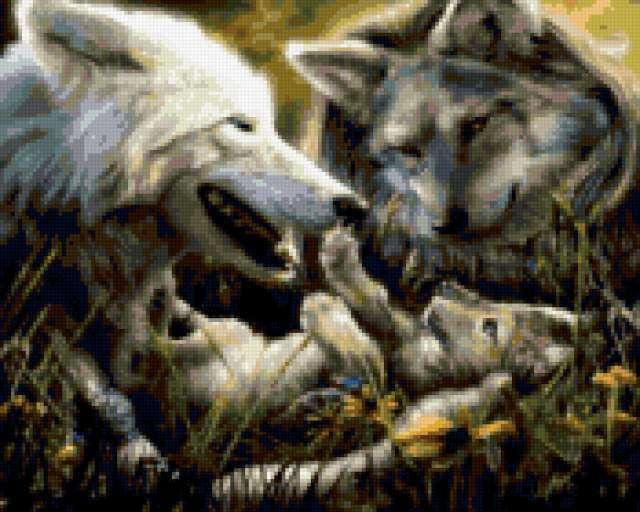 Волки, предпросмотр