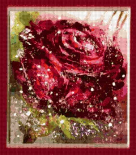 Алая роза, предпросмотр