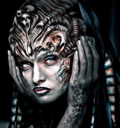Античная богиня, фентези