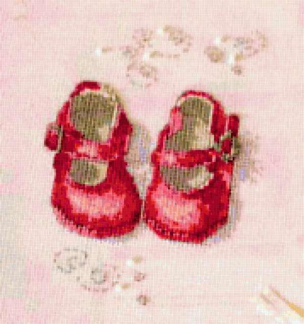 Детские туфельки, предпросмотр