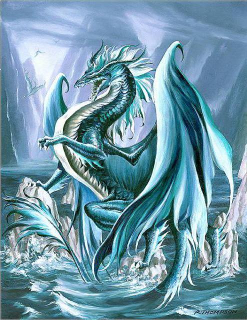 Ледяной дракон, оригинал