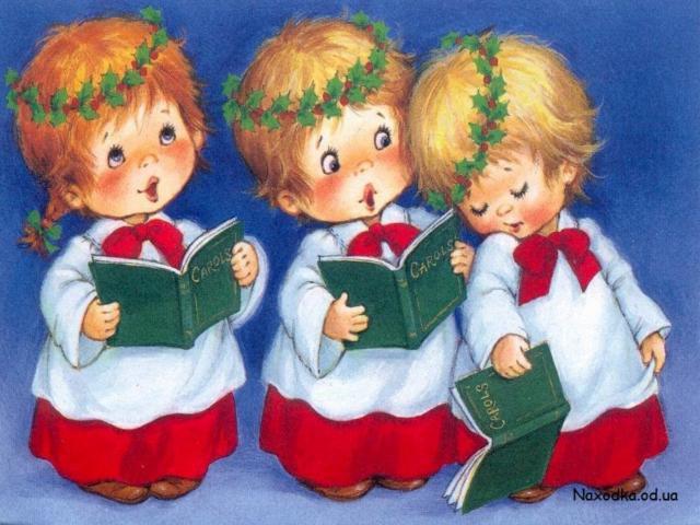 Три ангелочка, рождество