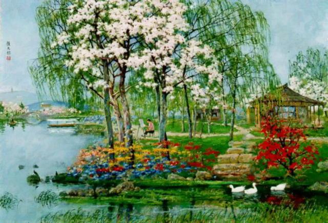 Весна, пейзаж, природа, весна