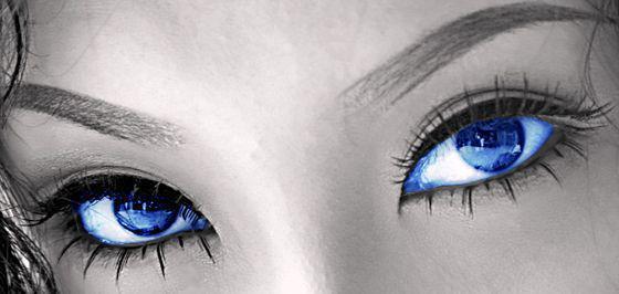 Голубые глаза, оригинал