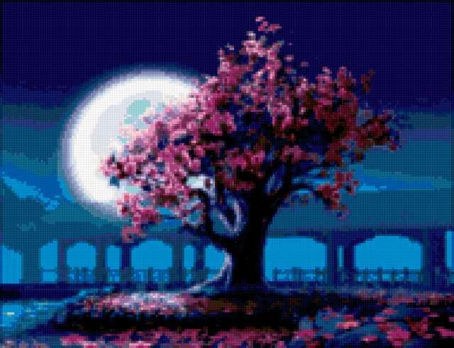 Сакура дерево, предпросмотр