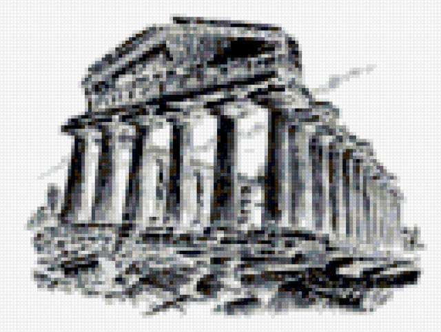 Famous Places - Athens, cityscape, famous buildings, famous places, athens, monochrome