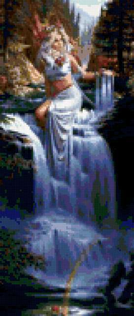 Девушка-водопад, предпросмотр
