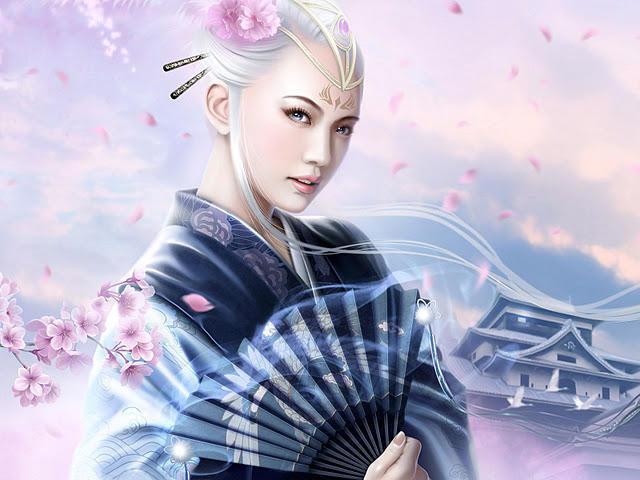 Девушка -Китай, оригинал