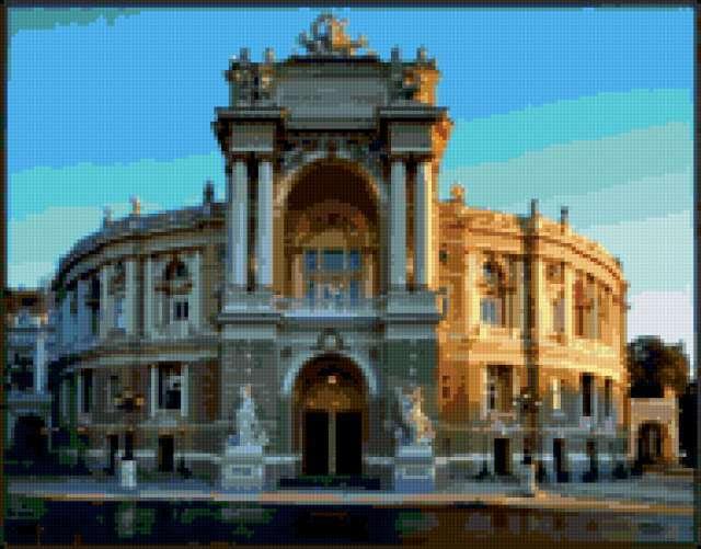 Одесский оперный театр, одесса