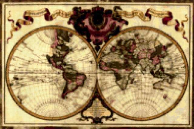 Карта мира Франция