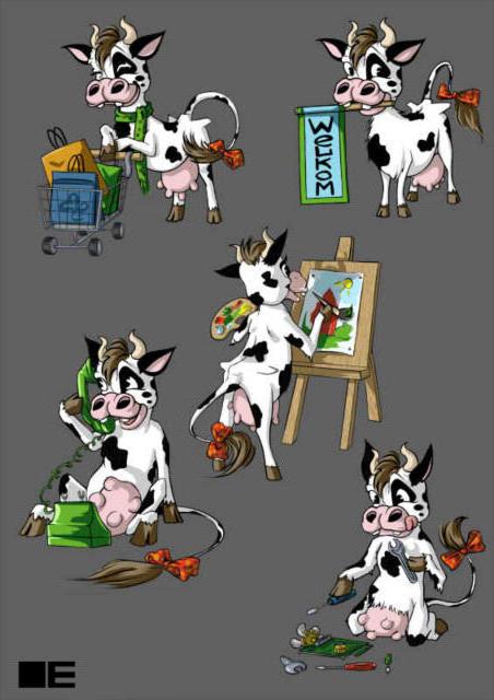 К схеме вышивки «Корова» нет