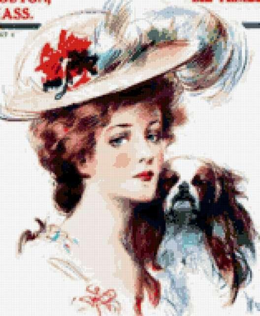 Дама с собачкой, предпросмотр