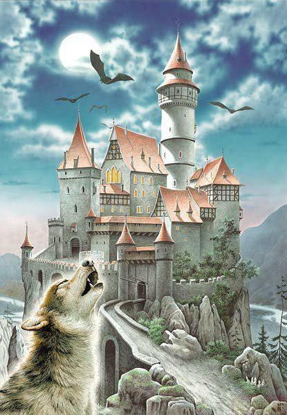 Замок Дракулы, оригинал