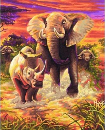 Триптих Африка ч2, оригинал