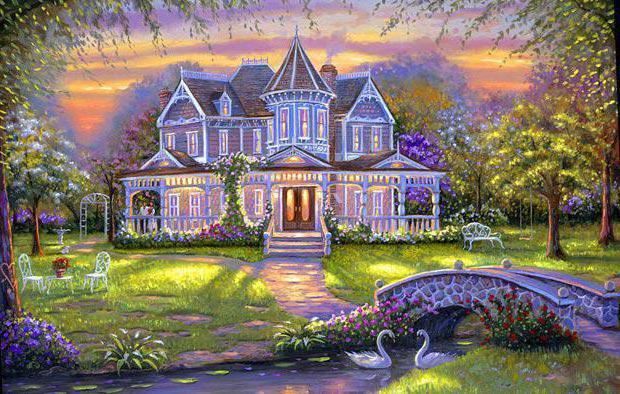 Сказочный домик,