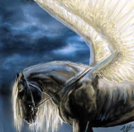 Крылатый конь - Пегас