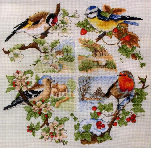 Птицы и времена года, оригинал