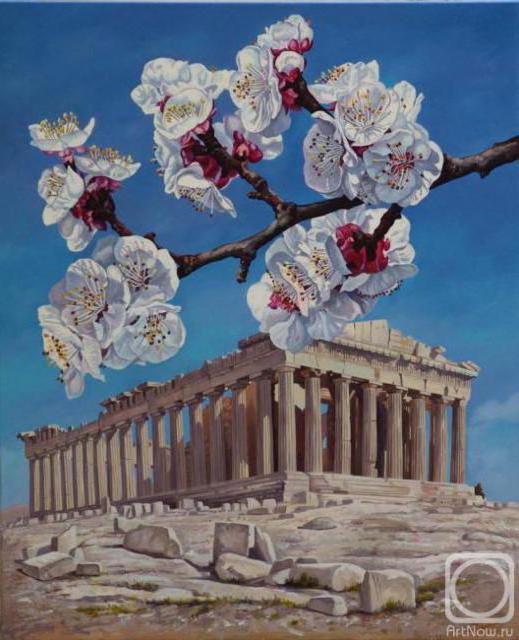 Древняя греция, греция, руины,
