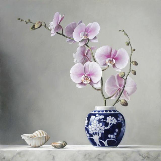 Орхидея в вазе, оригинал