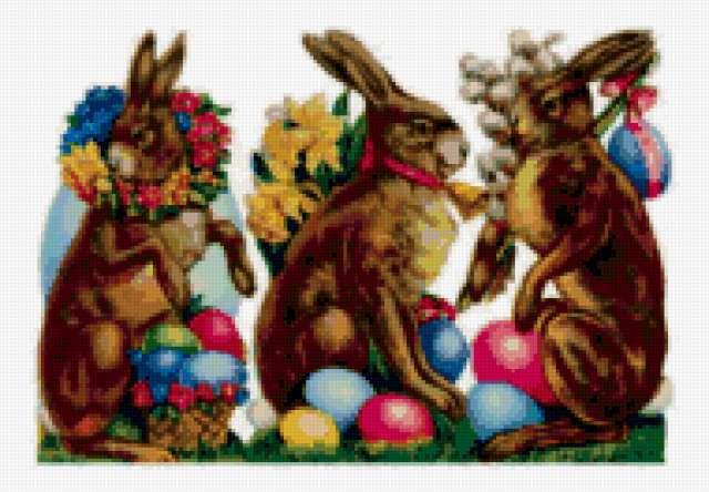 Пасхальные кролики 3