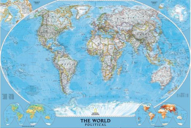 Модель Земли – Глобус | Инфокарт – все карты сети