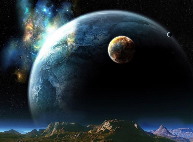 Космос, оригинал