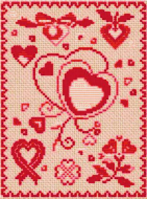 Мини-валентинки, предпросмотр