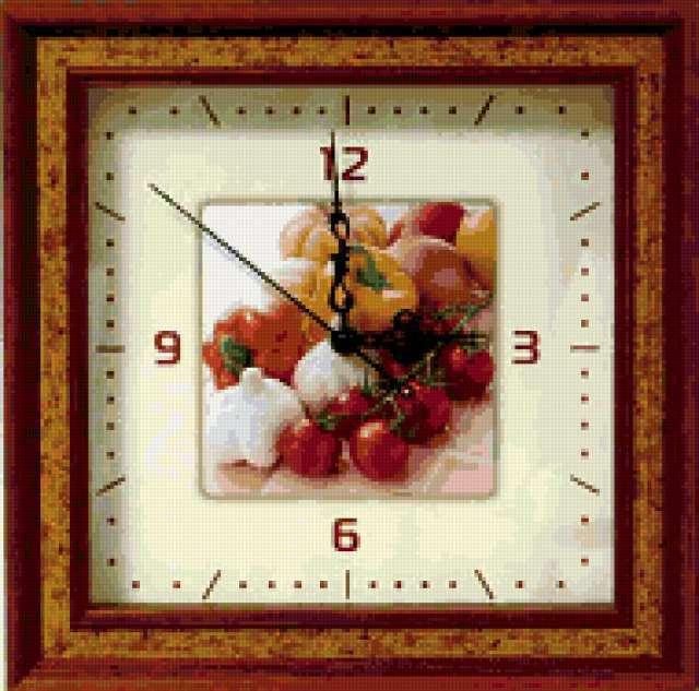 Часы для кухни, предпросмотр