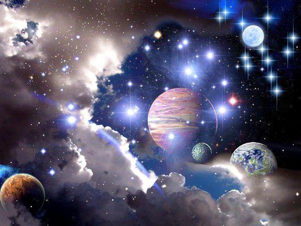 Планеты, космос, небо, планеты