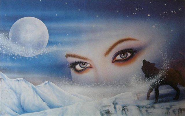 Взгляд снежной королевы
