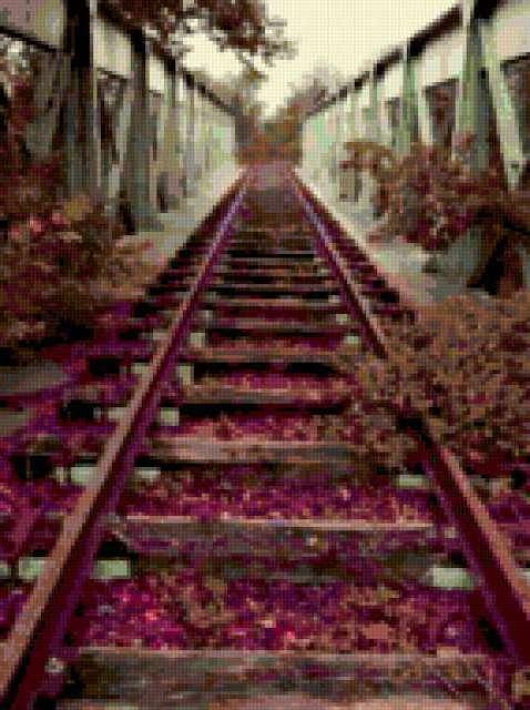 Железная дорога, железная