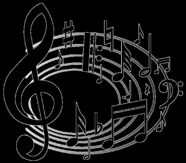 Ноты, ноты, музыка, мелодия