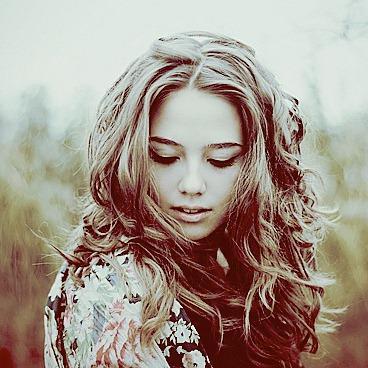 Красивая девушка, оригинал