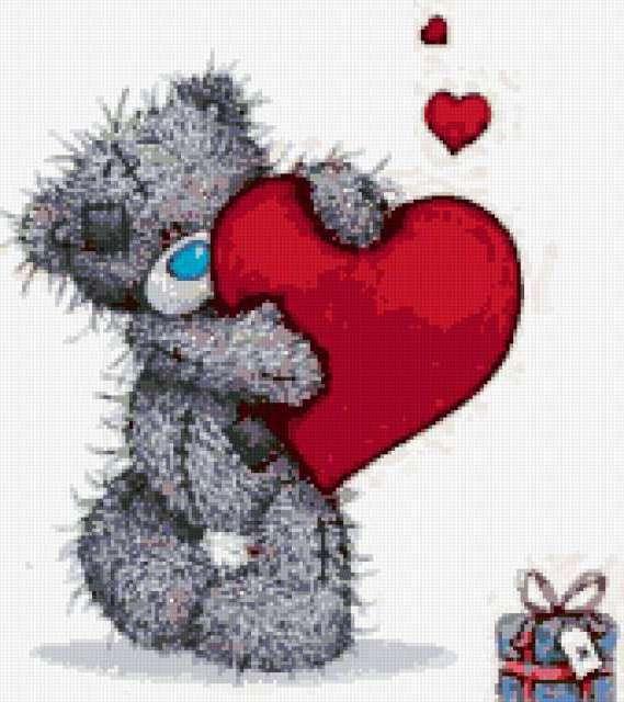 картинки мишек тедди с сердечками