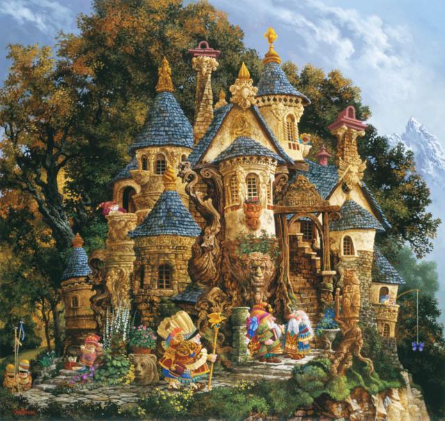 Замок эльфов, оригинал