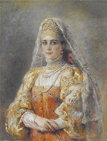 Портрет Юсуповой. Маковский